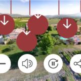 visite virtuelle drone et sol